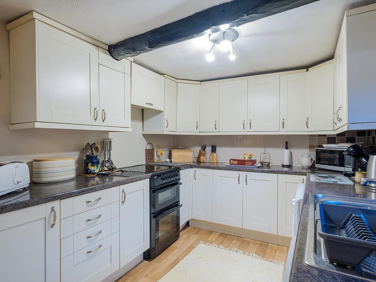Well appointed self-catering kitchen